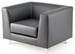 Sofa Lederen 1-zits fauteuil