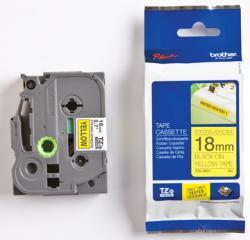 Brother tape TZES641 18mm zwart op geel