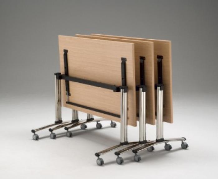 Domino concepto verrijdbare en inklapbare tafel   Eska office