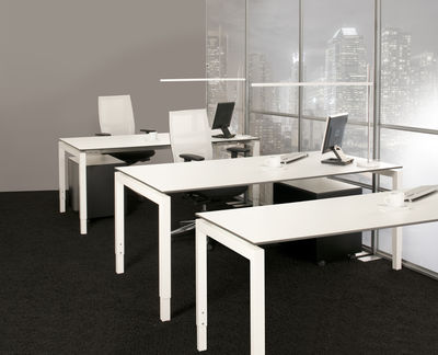 swan bureautafel arca 4 poots 200x80 cm eska office. Black Bedroom Furniture Sets. Home Design Ideas