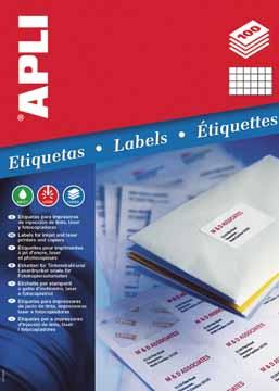 Apli witte etiketten 70x16mm doos van 5100 etiketten for Apli etiketten