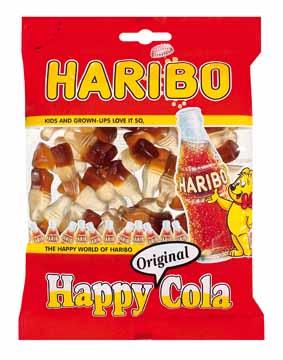 Haribo Snoep Cola Flesjes Zak Van 200 G Eska Office