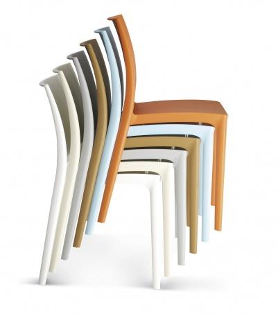maya stapelbare design stoel  eska office, Meubels Ideeën