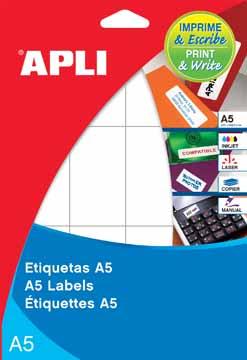 Apli etiketten 70x37mm etui van 600 etiketten eska office for Apli etiketten