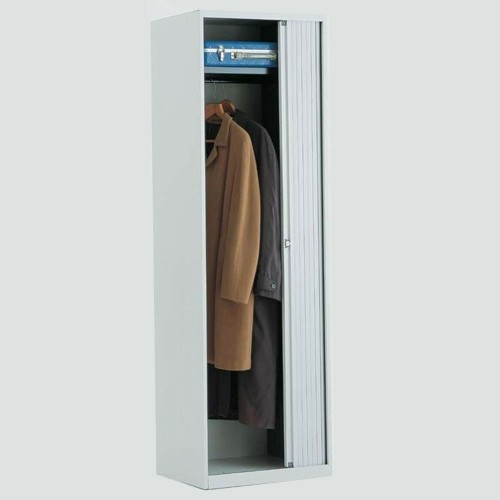 Bisley garderobe roldeurkast basic 198 x 60 x 43 cm eska for Garderobe 60 cm