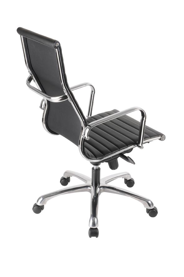 Directie Bureau Stoel.Torno Directie Bureaustoel Met Armleuningen In Zwart Leder Eska Office