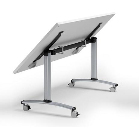 Domino concepto verrijdbare en inklapbare tafel eska office for Inklapbare tafel