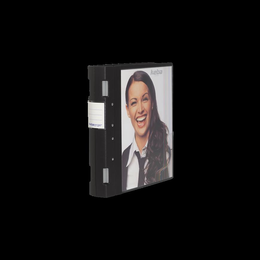 KebaErgo Pocket ringmap A4+ met 4 ringen   Rug van 55mm   Doos van 5 stuks   Eska office
