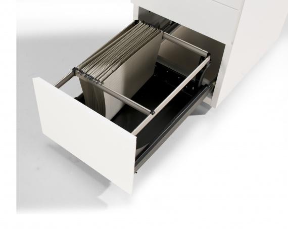 Elite pro verrijdbaar ladeblok met softclose systeem el for Ladenblok diepte