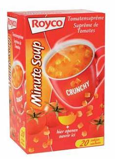 Royco Suprême Tomatensoep Met Korstjes Doos Van 20 Zakjes Eska