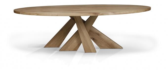 StaRR houten tafel ovaal/rechthoekig : Eska office