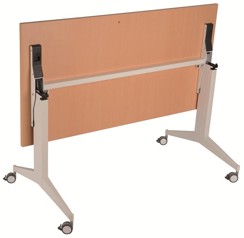 Timi verrijdbare en inklapbare tafel eska office for Inklapbare tafel
