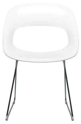 tribi kunststof design stoel eska office