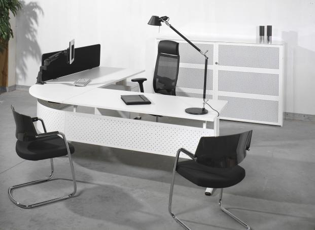 nova l vorm bureau cad combinatie 200 x 240 cm eska office. Black Bedroom Furniture Sets. Home Design Ideas