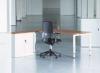 Domino opstelling bureau met roldeurkast 180x200cm
