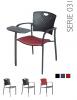 All-Tec serie 031 kantinestoel / conferentiestoel - Set van 4 stuks