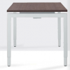 Arca bureautafel 4-poots 180x80 cm