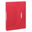 Esselte elastobox Vivida uit PP rood