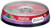 Imation DVD Recordable DVD+R - Capaciteit: 4,7 GB - spindle van 10 stuks