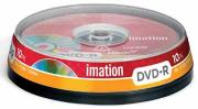 Imation DVD Recordable DVD-R - Capaciteit: 4,7 GB - spindle van 10 stuks