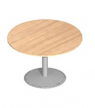 Ronde tafel/vergadertafel met trompetvoet Ø120cm