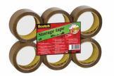 Scotch verpakkingstape uit PP bruin 50mic.