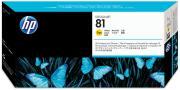 Hewlett Packard C4953A / HP 81 inktcartridge geel