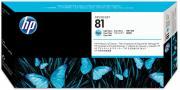 Hewlett Packard C4954A / HP 81 inktcartridge licht cyaan