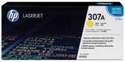 Hewlett Packard 307A / CE742A toner geel