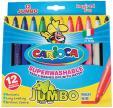 Carioca viltstift Jumbo Superwashable - 12 stiften in kartonnen etui