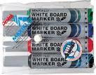 Pentel whiteboardmarker Maxiflo - Etui van 4 stuks