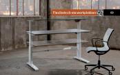 Flex-2 zit sta bureau met electrische bediening