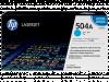 Hewlett Packard CE251A / HP 504A toner cyaan