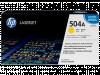 Hewlett Packard CE252A / HP 504A toner geel