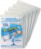 Tarifold View tas Sticky Fold A4 zelfklevend - Pak van 5 stuks