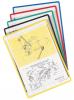 Tarifold zelfklevende tas A4 ass. kleuren - Pak van 5 stuks
