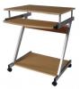 Computertafel Z aluminium/beuken